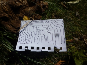 Poetry inspired by the woodland